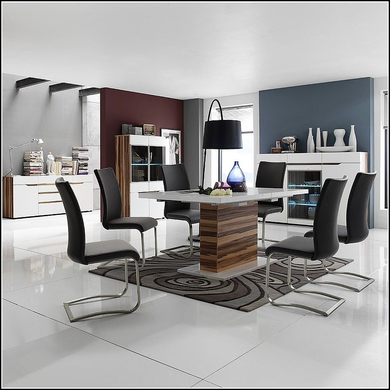Stuhl Esszimmer Leder Holz 식탁 Pinterest Esszimmer Stuhl Und