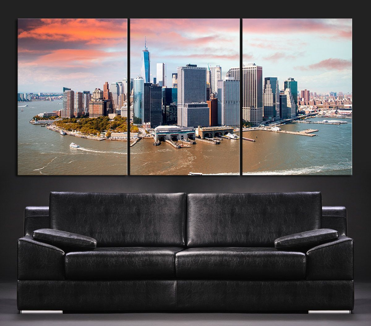 large wall art canvas print skyline panorama new york manhattan large wall art canvas print skyline panorama new york manhattan murals aerial view of