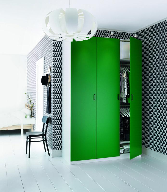 Idée déco  Du papier-peint géométrique Geometric wallpaper - exemple maison sweet home 3d