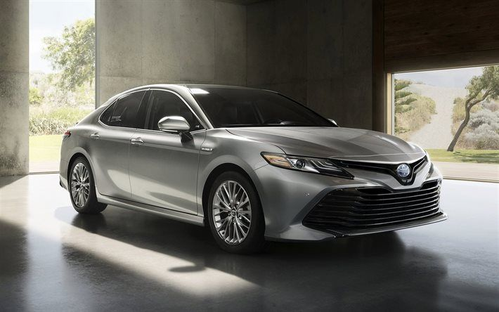 Toyota Camry Cars Hybrid Sedans Luxury Cars Silver Camry