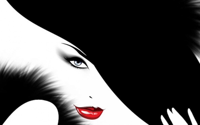 Black White And Red Wallpaper Wallpapersafari Black And White