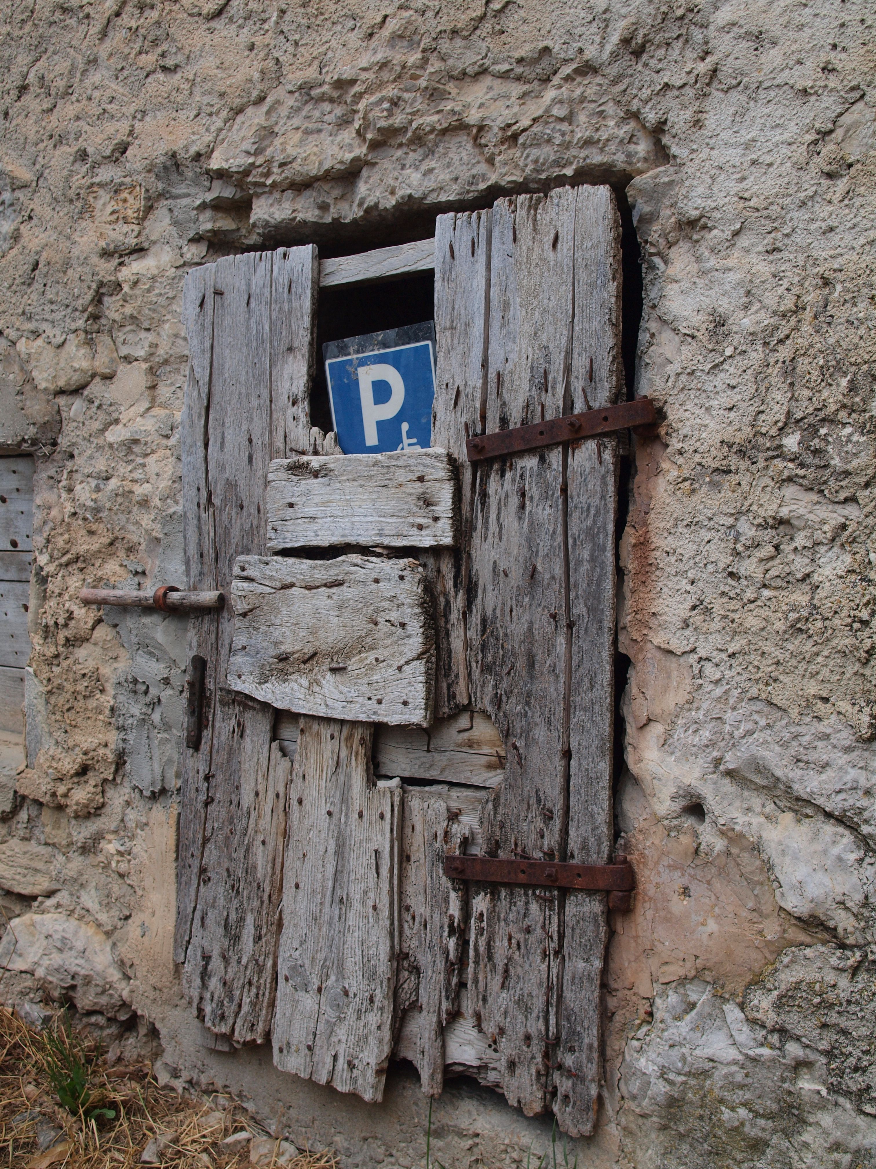 Old door in La Drome