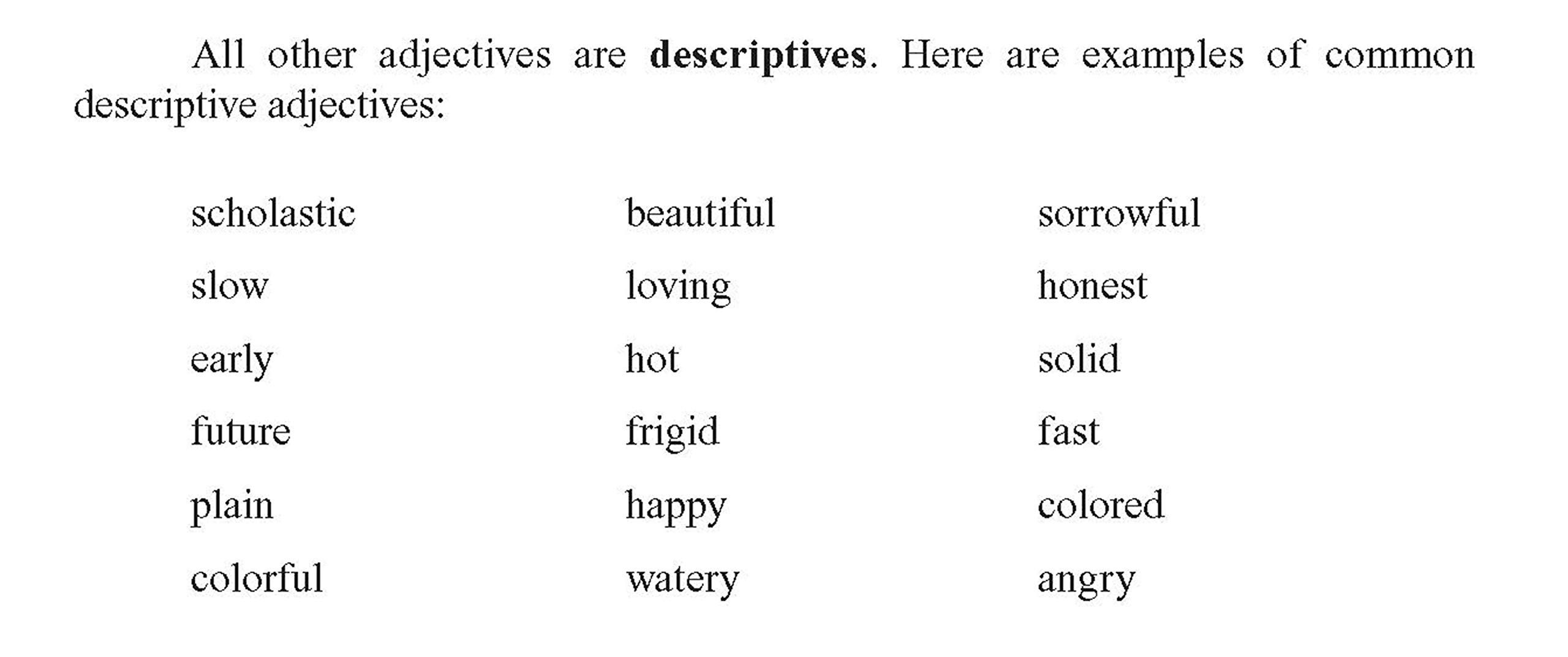 8 Accomplished Adjectives Worksheets For 2nd Grade Di 2020