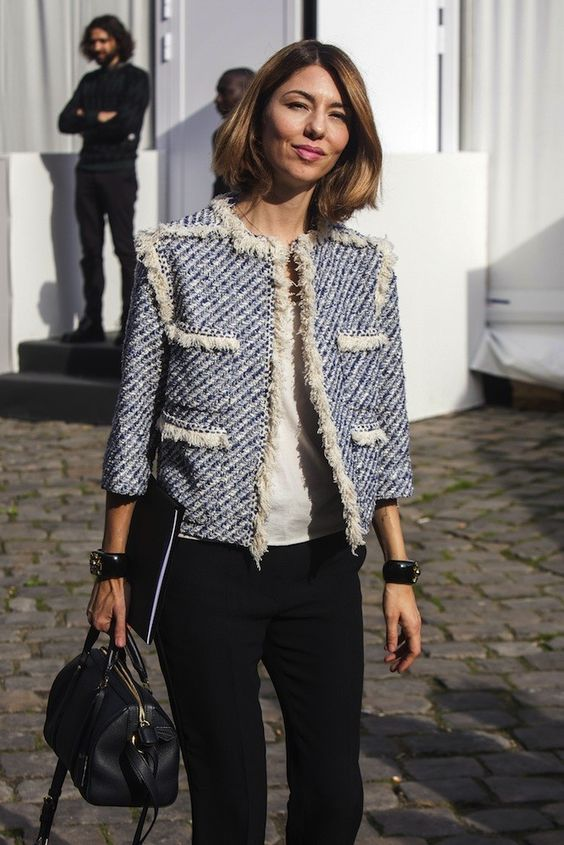 Best Of Fashion Week Street Style Inspiration Style Chanel Tweed