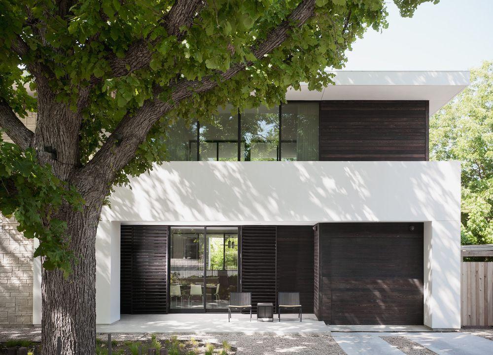 Invisible Garage Door Architecture Garage Door Design Residential Architecture
