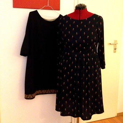 WIP / Weihnachtskleid-Sew-Along IV