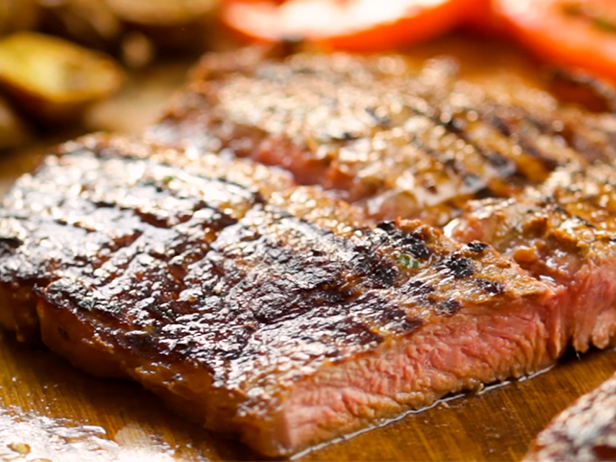 Churrasco Asado Recipe Recipes Sirloin Steaks Food Network Recipes