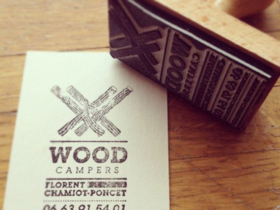 39 Stamped Business Cards For Your Inspiration Ibrandstudio