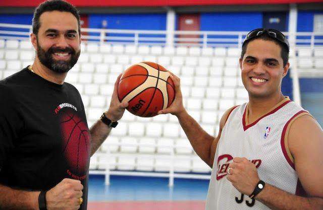 Irmãos deixam de lado rivalidade Fla x Vasco e vibram com NBB em Manaus