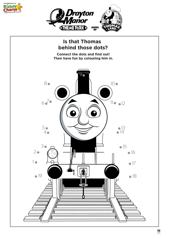 Thomas The Tank Engine Activity Sheets