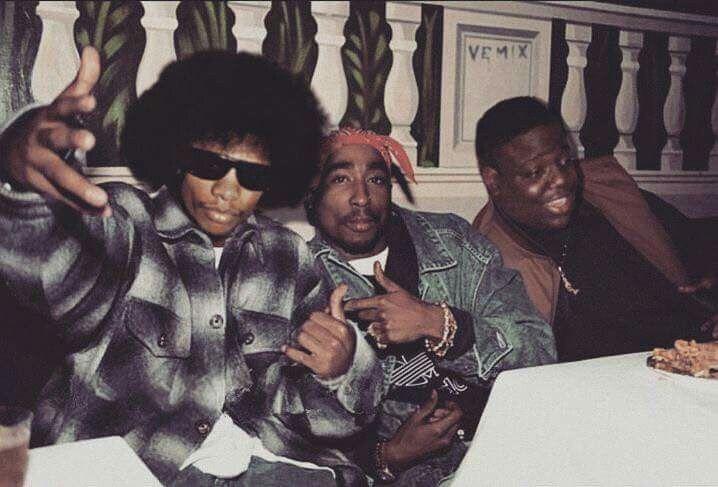 Eazy E,Pac And Biggie.