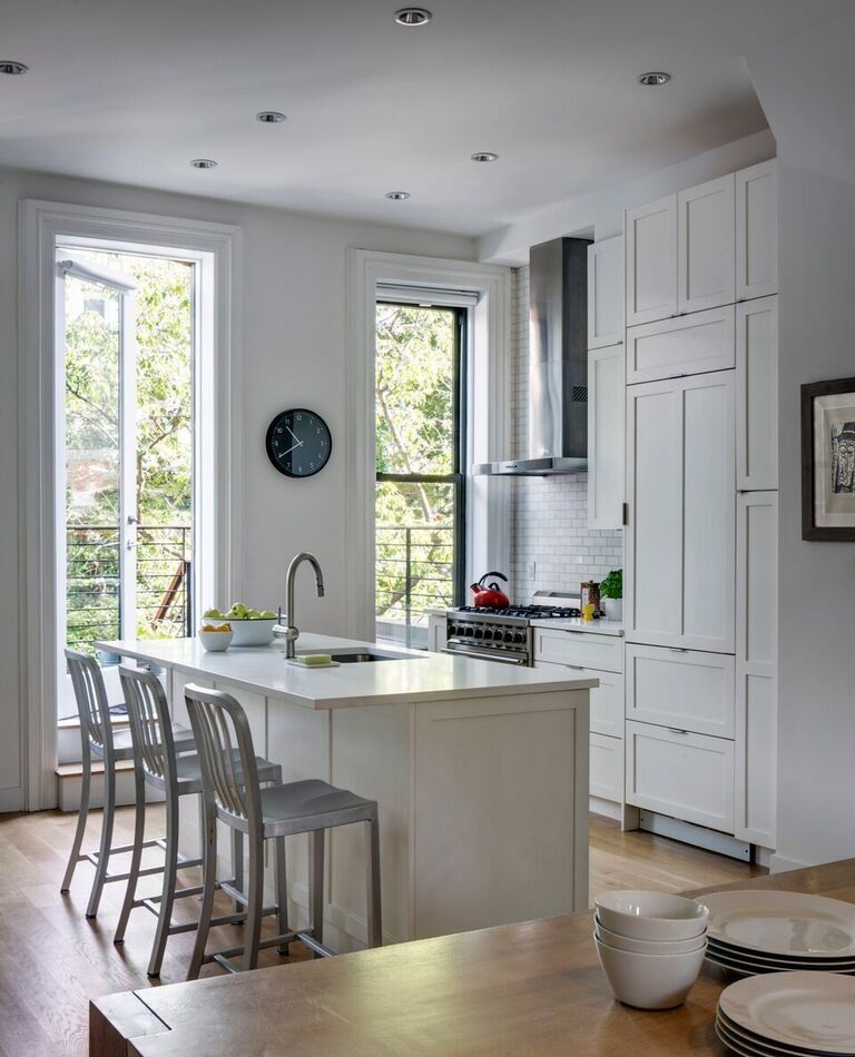 South Slope Brooklyn Townhouse Renovation Kitchens Pinterest Townhouse Kitchens And House