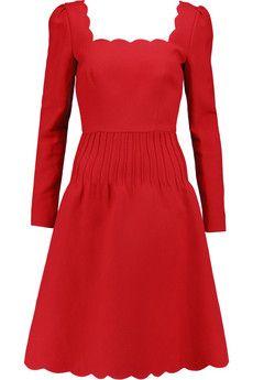 Designer Dresses   Sale up to 70% off   LV   THE OUTNET. Valentino  GaravaniScallopsAnd DressesDress JacketsWool BlendDesigner DressesShort ...