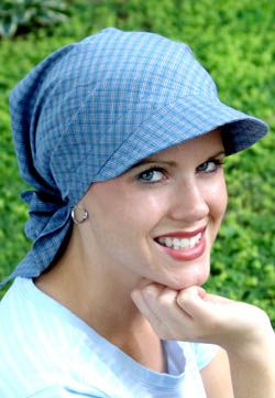 Great scarf sun visor attached.  f336fceb137