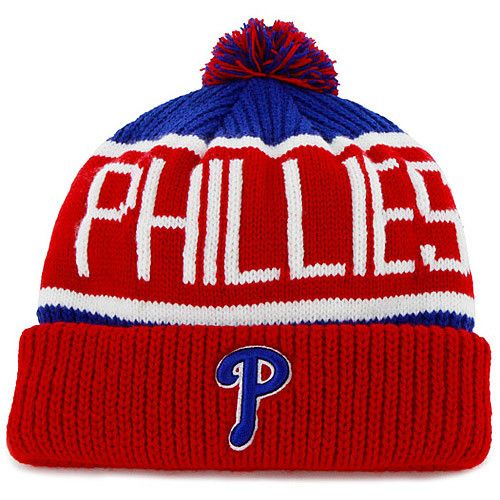 Philadelphia Phillies Red Calgary Knit Cap by  47 Brand  d0ee234662f