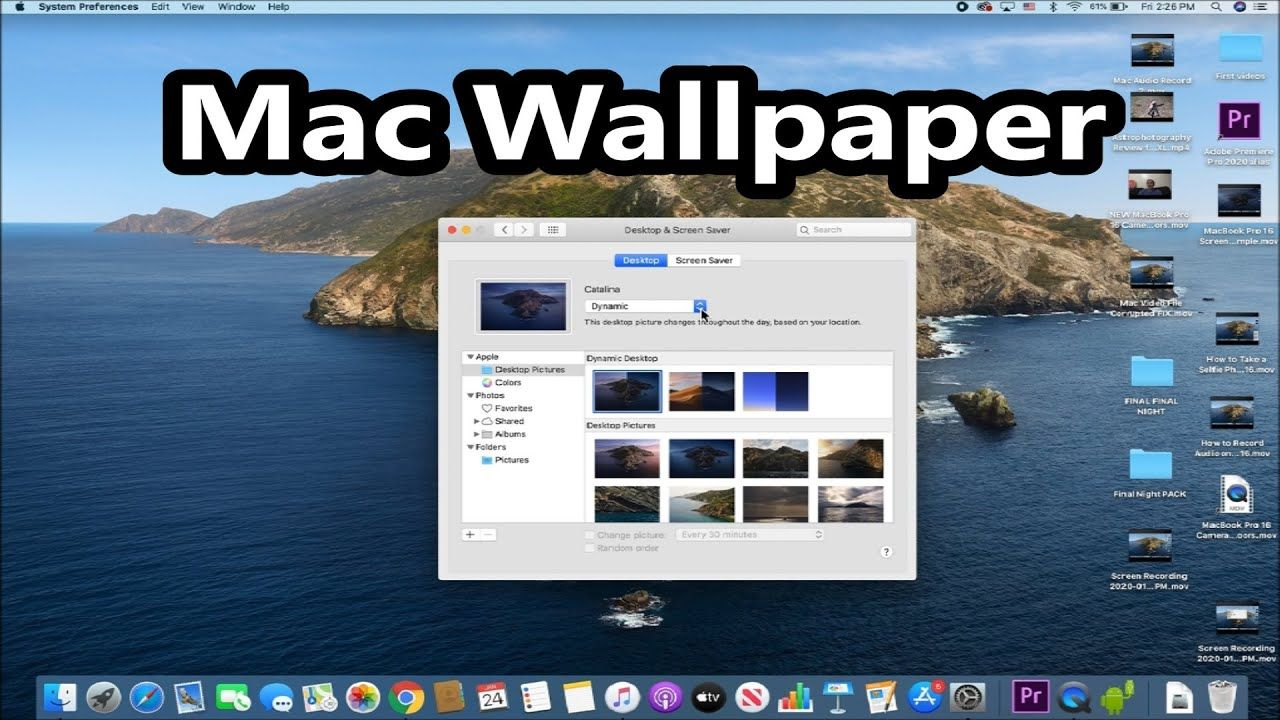 How To Change Wallpaper Macbook In 2020 Macbook Wallpaper Mac Wallpaper