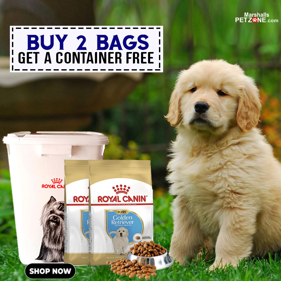 Buy Two Bags Of Royal Canin Dog Food And Get A Container Free The