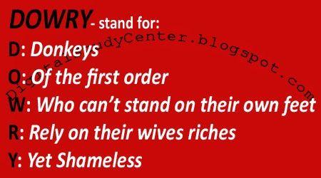 Dowry System Digital Study Center Hypocrite Quotes