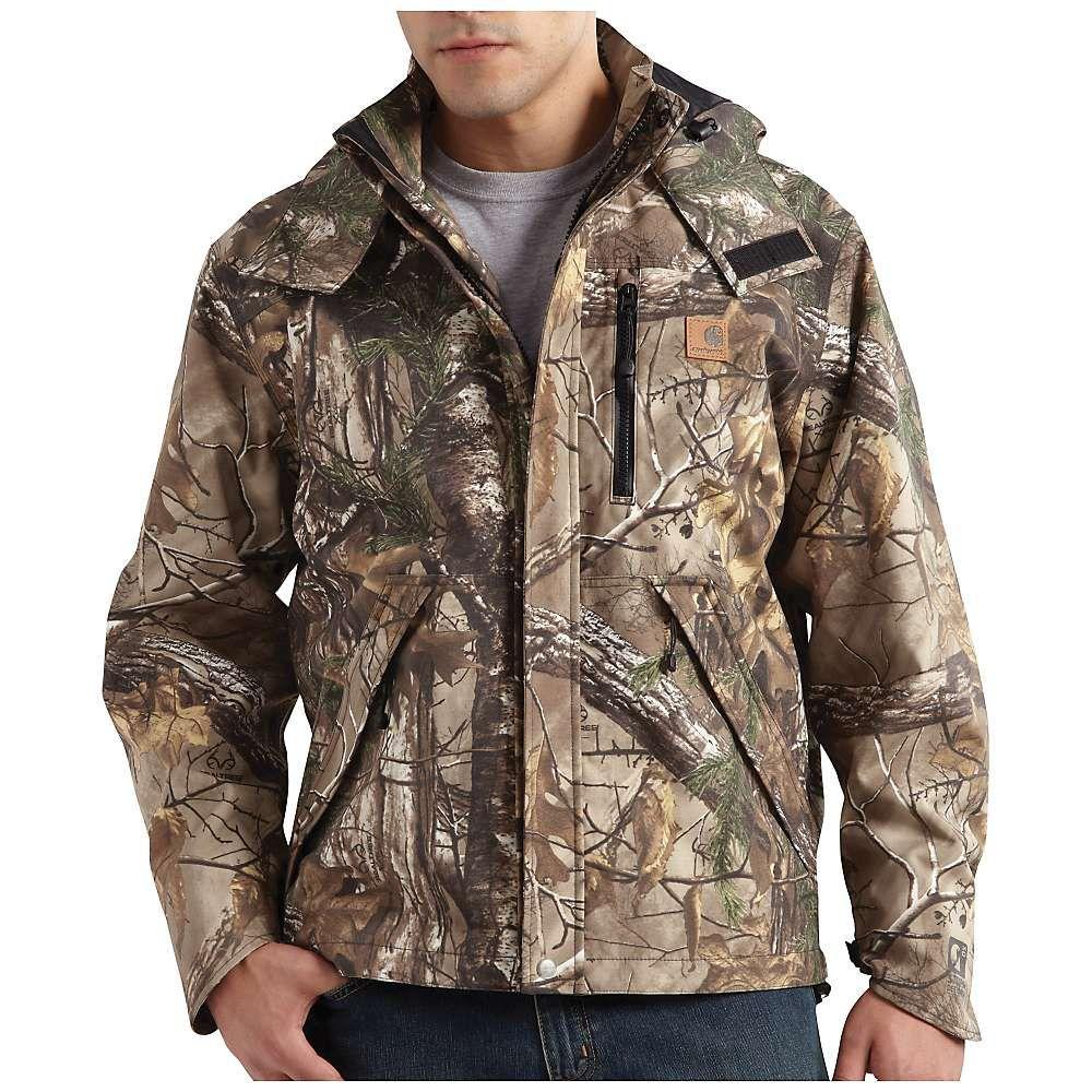 Carhartt mens camo shoreline jacket hunting clothes