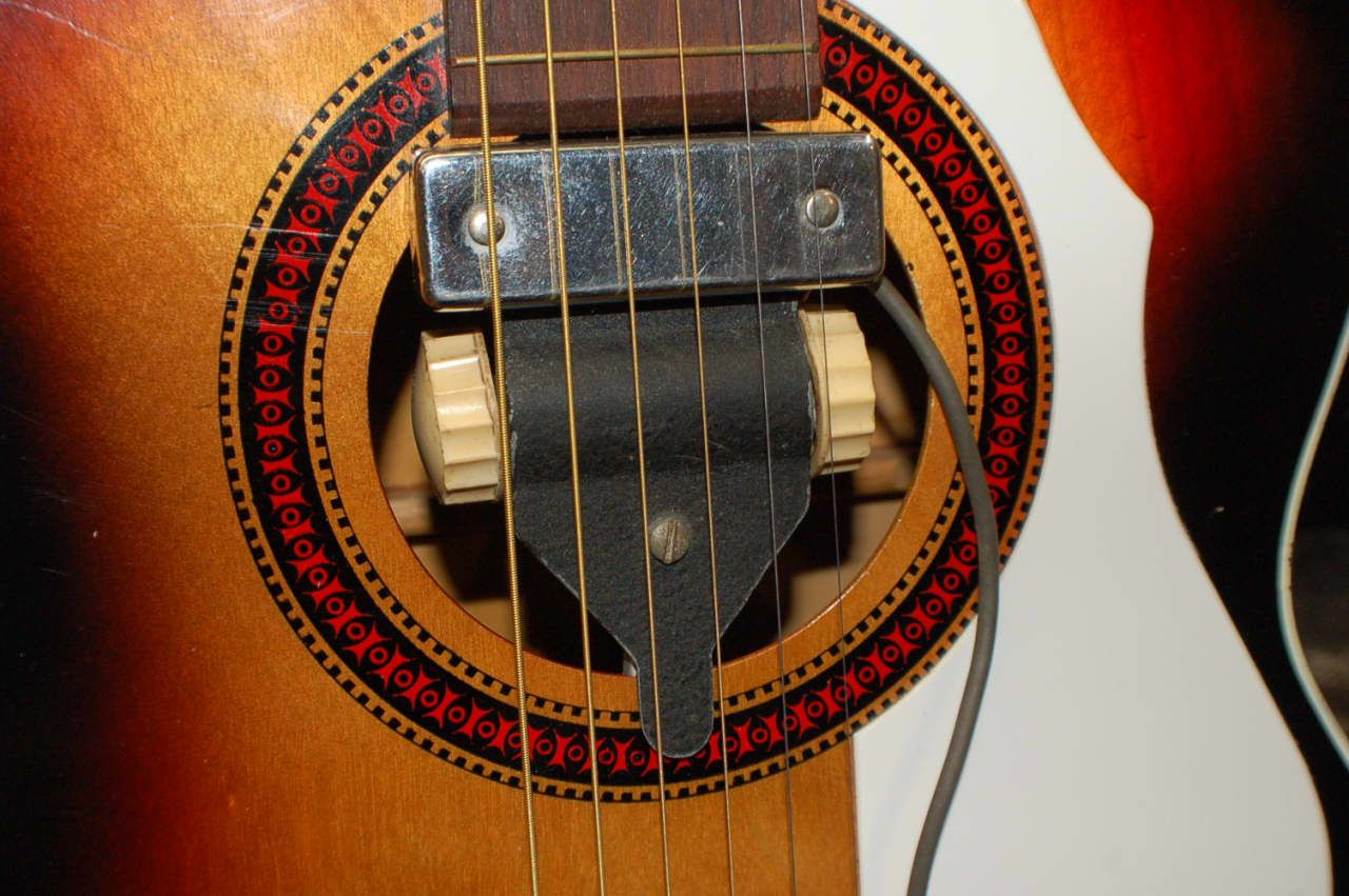 1950 S Rare Lectrolab Dearmond Tripod Soundhole Acoustic Guitar Pickup Lawman Guitars Reverb Guitar Pickups Acoustic Guitar Pickups Guitar