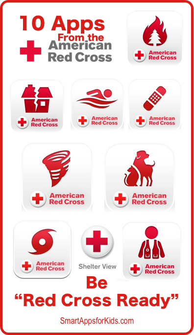 Pin by Smart Apps For Kids on FREE App Lists Red cross