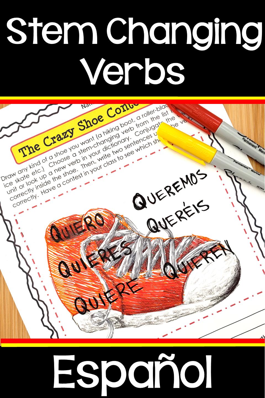 Spanish Stem Changing Verbs How To Speak Spanish Verb Spanish [ 1440 x 960 Pixel ]
