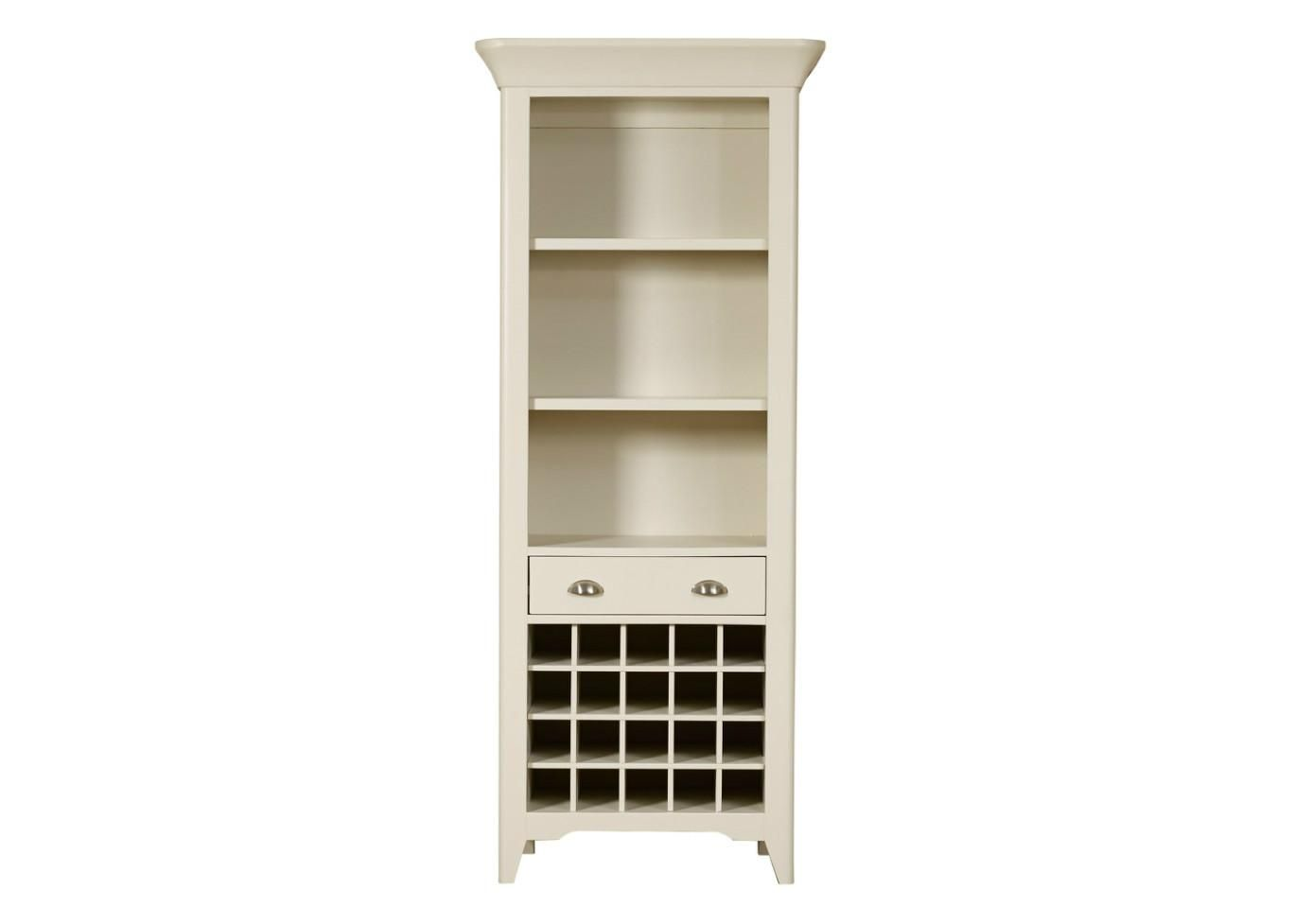 Padstow Tall Bookcase/Wine Rack