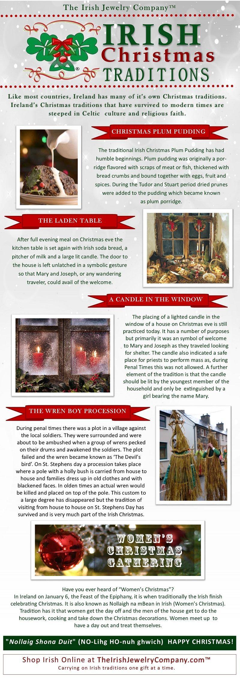 Irish Christmas Traditions | All Things Irish | Pinterest | Irish ...