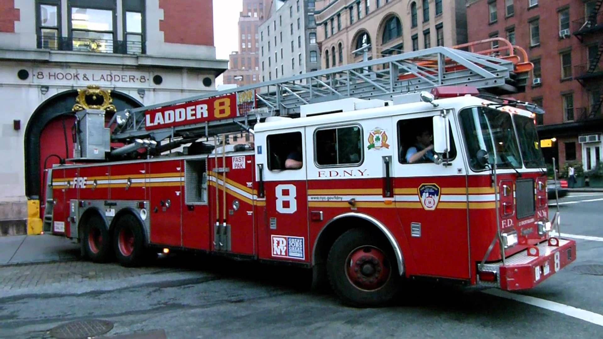 Fire Trucks In Action Bing Images Fire Trucks Fdny Trucks