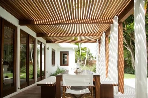 Selecting the Right Wood for Your Outdoor Pergola Kebony