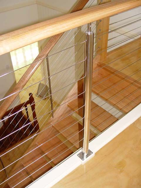 A balustrade is the multiple form of baluster also called stair a balustrade is the multiple form of baluster also called stair stick or spindle it yourself kit steel balustrade kits is comprised of wire rope up to solutioingenieria Image collections