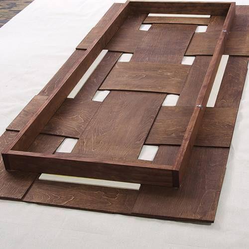 Cabeceros de cama originales para hacer con tiras entrelazadas 9 cabeceras de cama cabecera - Cabeceros cama originales ...