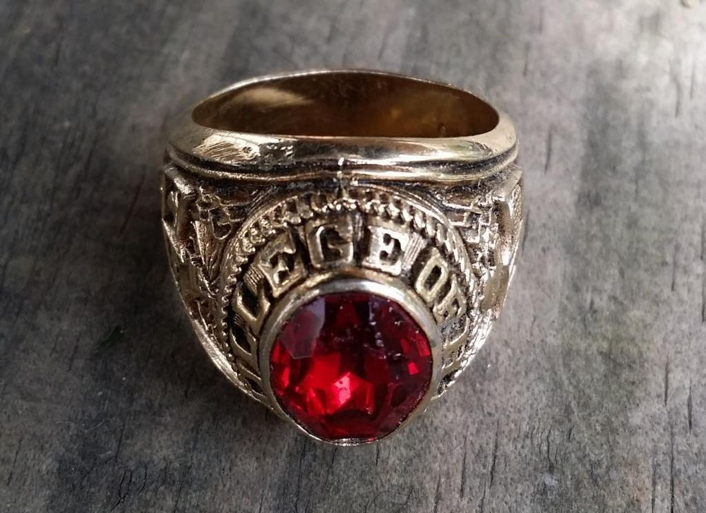 College of the H.K. Class School Ring by Espo Size 11 ...