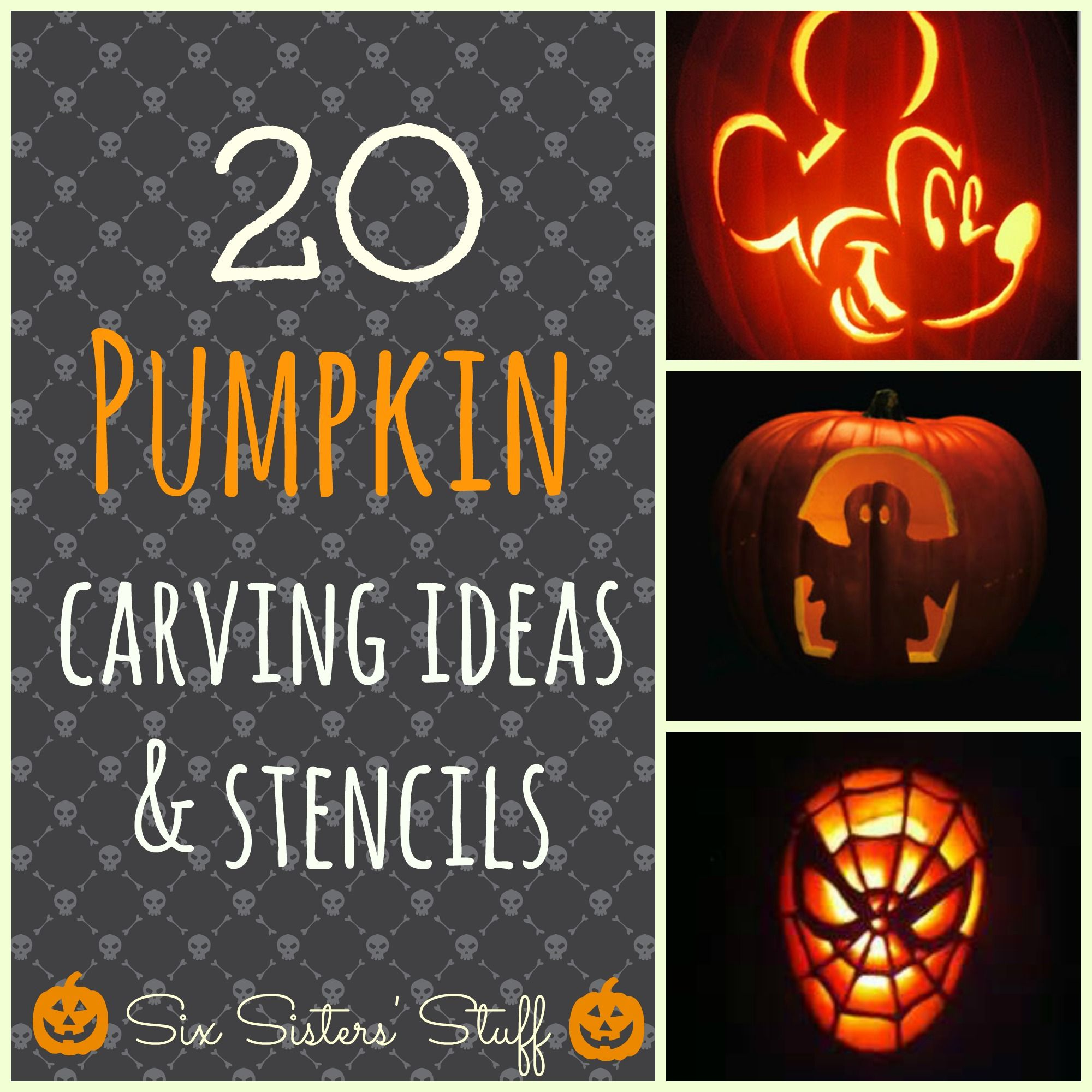 20 Pumpkin Carving Ideas   Holidays   Pinterest   Pumpkin carvings ...