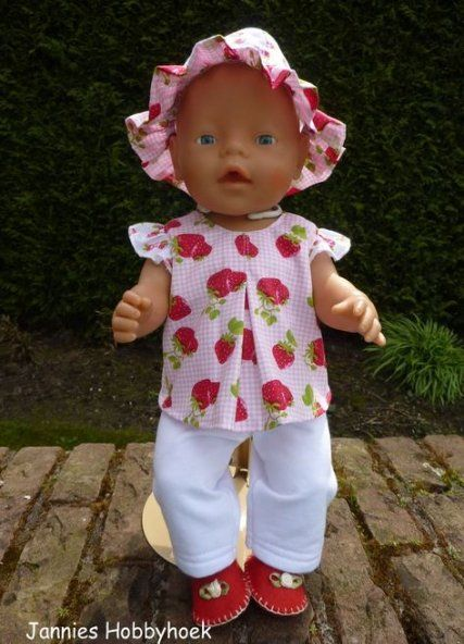 baby born #baby 40+ Trendy Ideas Baby Born Clothes Pattern Sewing Doll Dresses #clothes #sewing #baby #doll