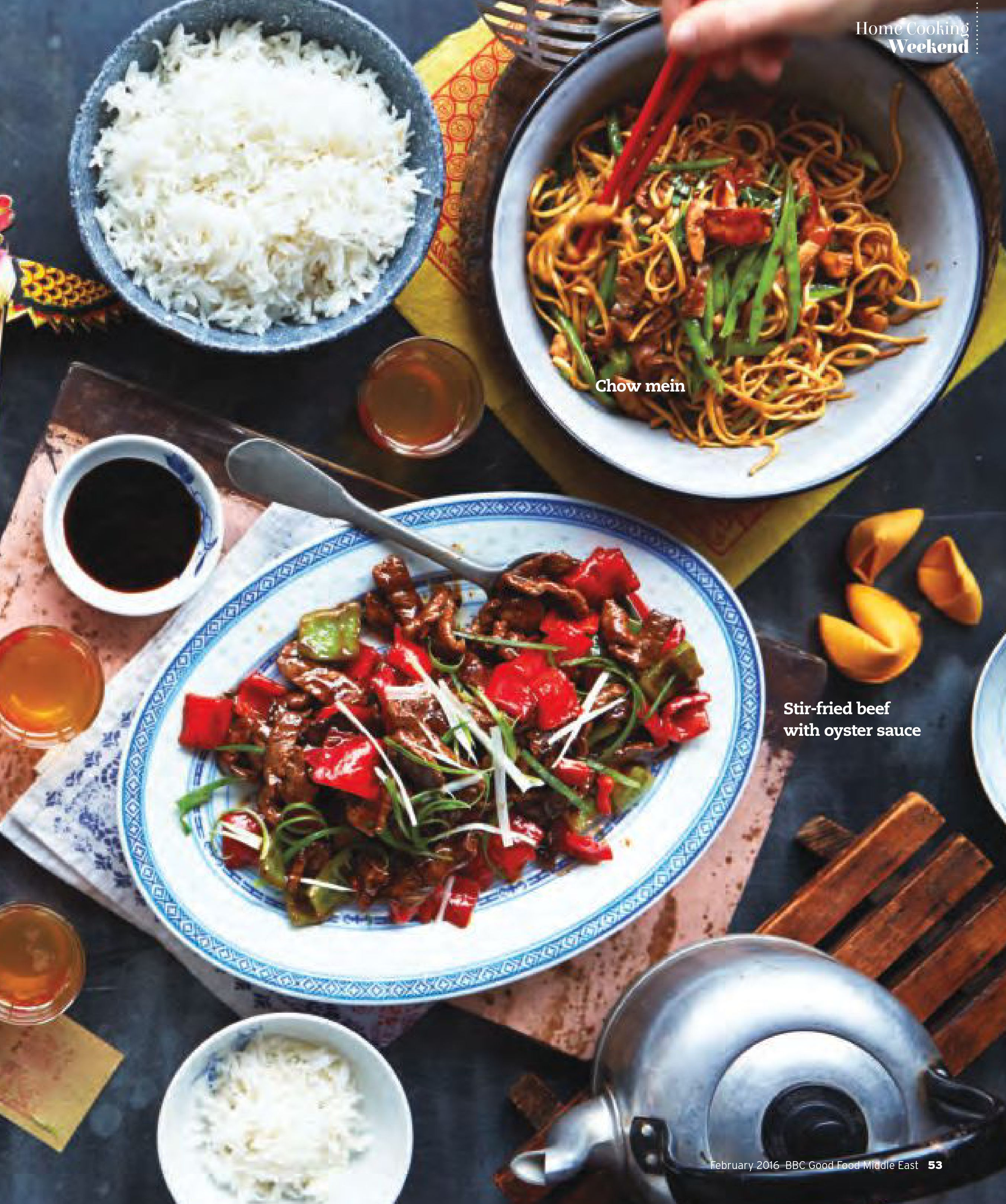 Chow mein and stir fried beef with oyster sauce food recipe bbc chow mein and stir fried beef with oyster sauce food recipe forumfinder Images