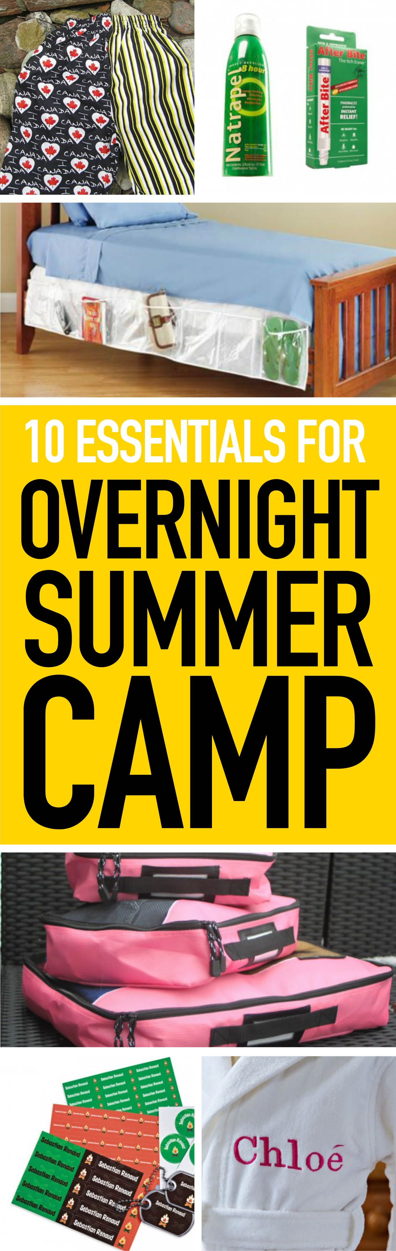 Overnight Camping Essentials Overnight Camps Bug Bite And Forget - 10 amazing summer camps for adults in canada