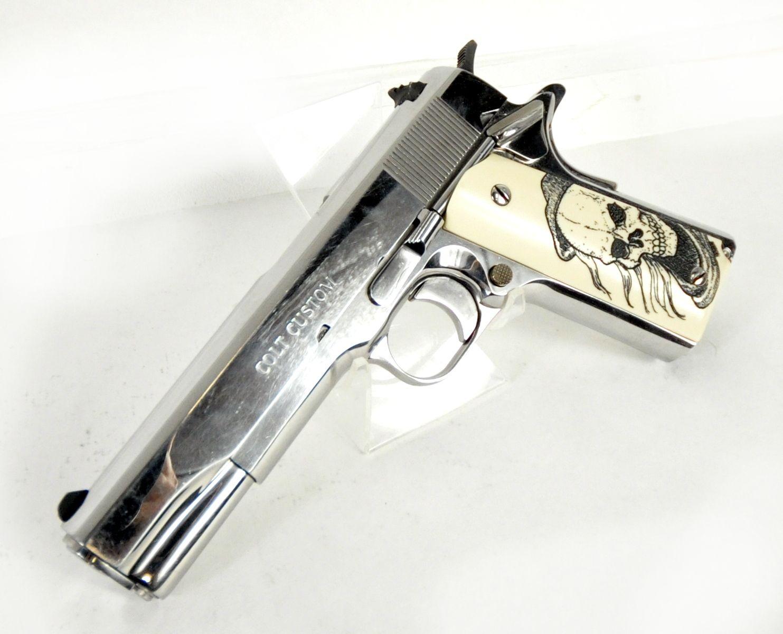 Colt Custom Bright Stainless 1911  38 Super 5