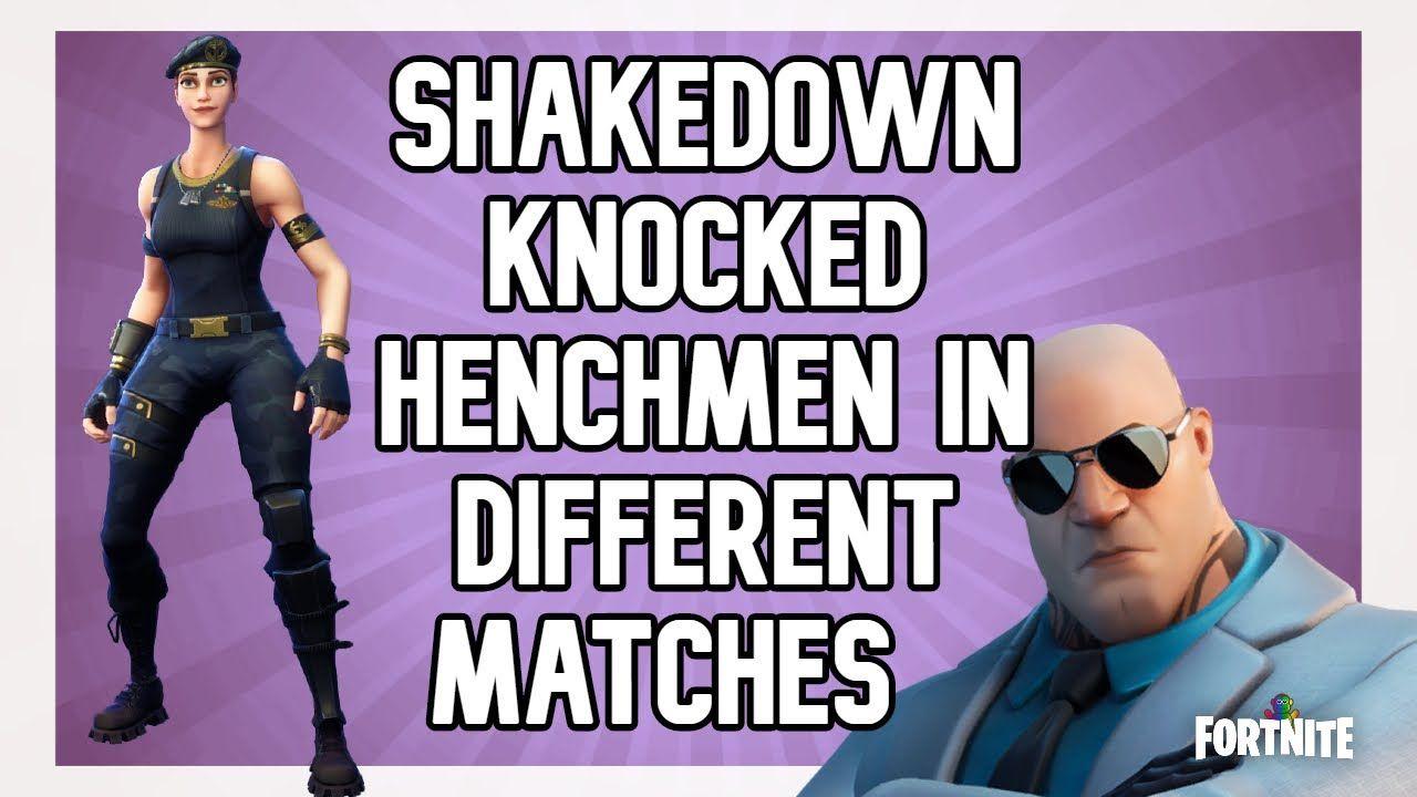 Fortnite Chapter 2 Season 2 Brutus Challenges Shakedown Knocked Henchm Fortnite Knock Knock Secret Passages
