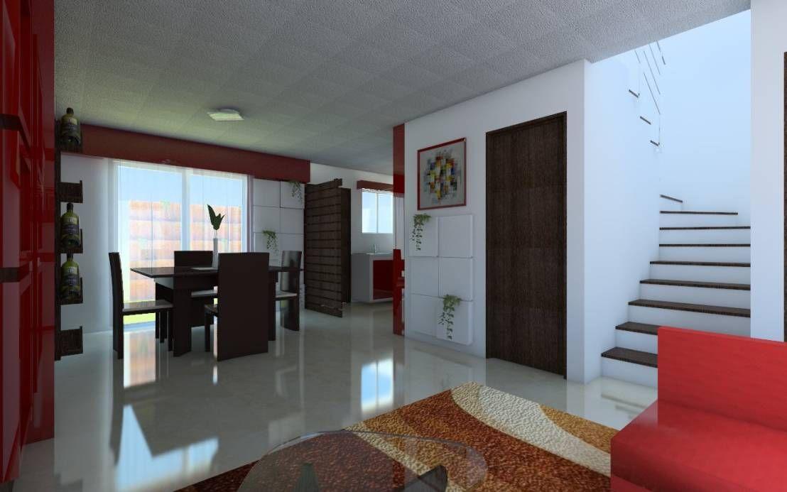 Proyecto De Remodelacion Y Decoracion Casa Interes Social De Idea Studio Arquitectura Homify Interiores De Casas Pequenas Decoraciones De Casa Interiores De Casa