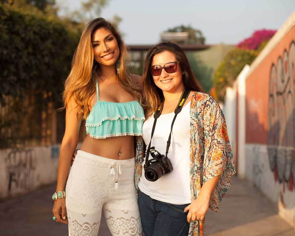 lhv imagesi Model Katherine Mayer and LSM Founder Stephany Gonzales after the  #photoshoot :) Photoshoot in