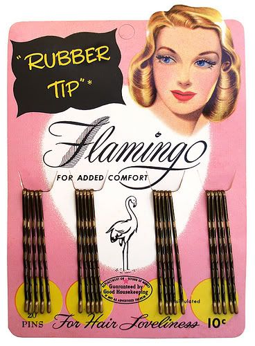 Chronically Vintage: Packaging makes perfect: vintage bobby pins
