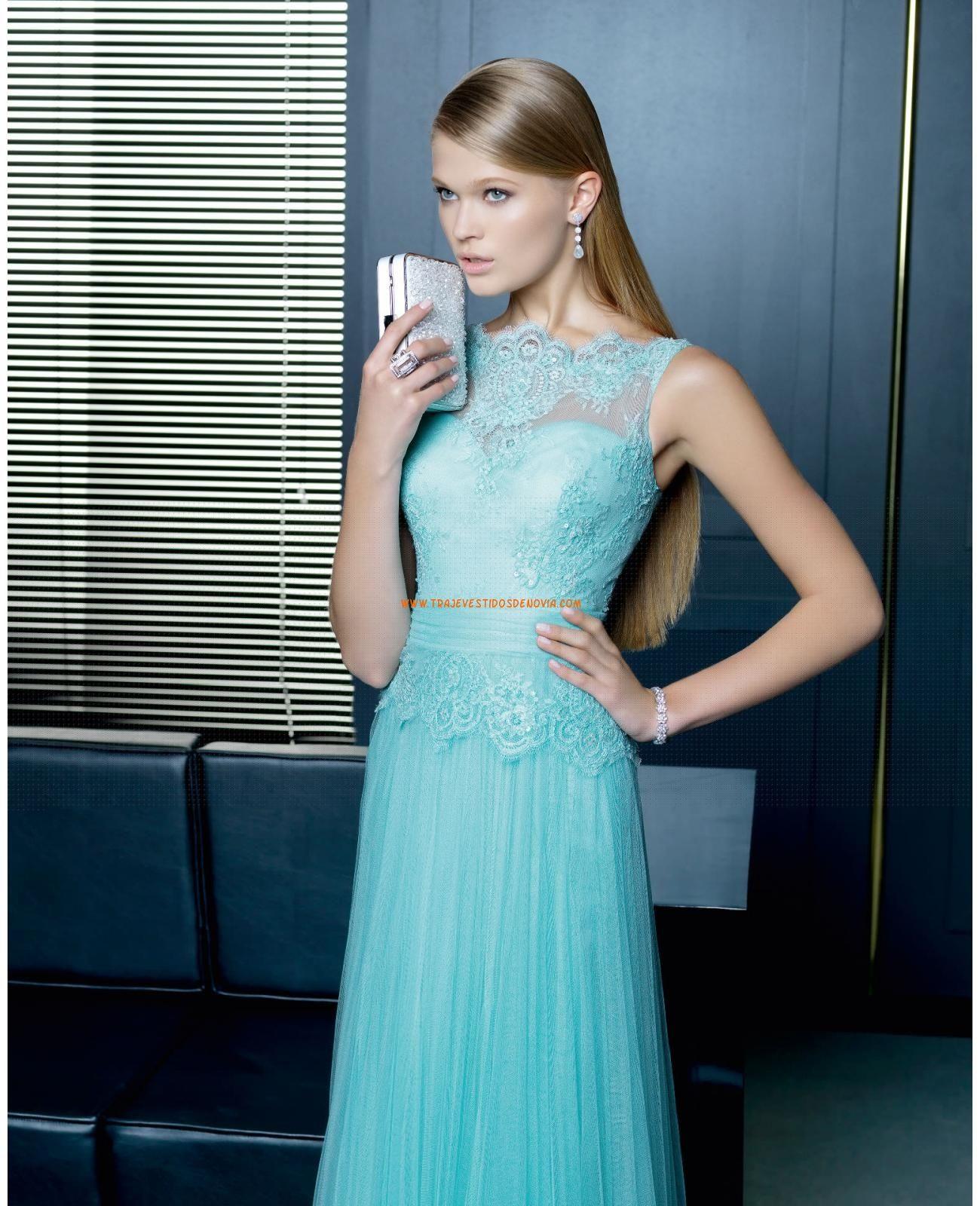 VESTIDO Y CHAL TUL ENCAJE PEDRERIA... - hermoso | vestidos de boda ...