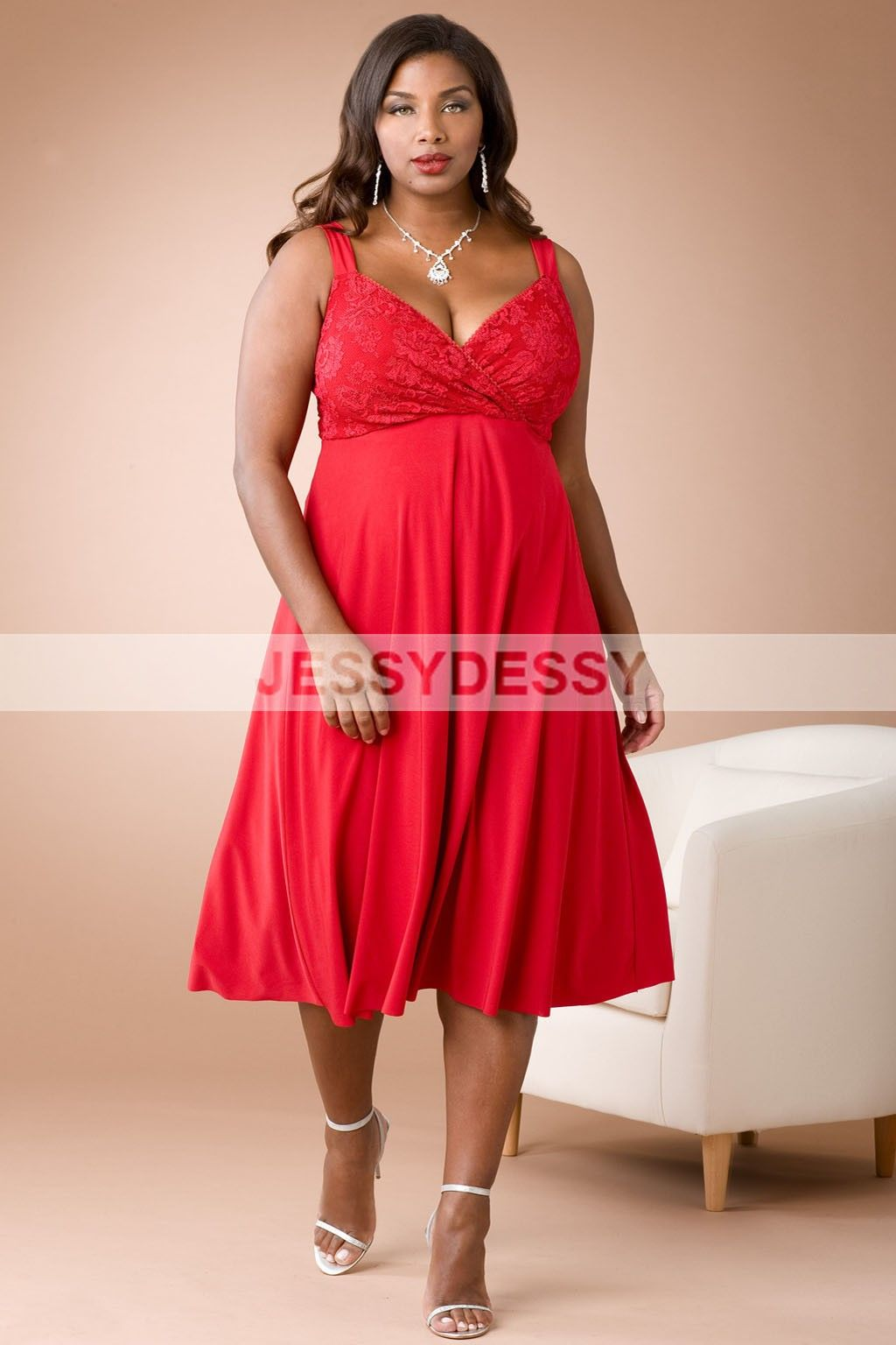 Plus size bridesmaid dress red wedding dress pinterest dress plus size bridesmaid dress red ombrellifo Images