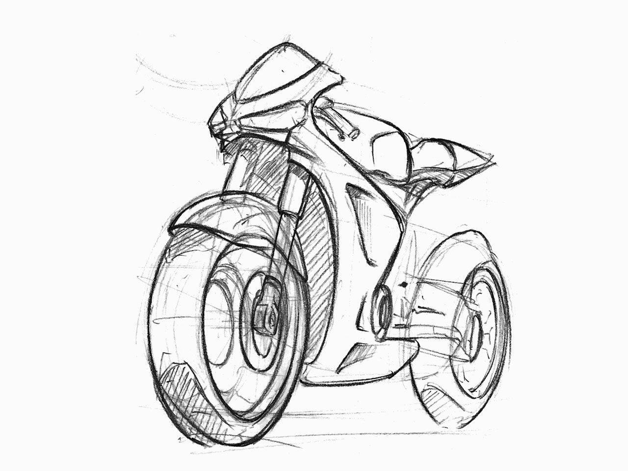 Images For Gt Motorbike Sketch Front With Images Sketches