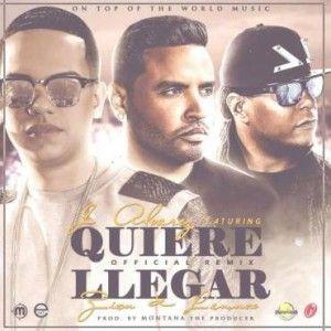 J Alvarez Ft. Zion & Lennox – Quiere Llegar (Official Remix) via #FullPiso