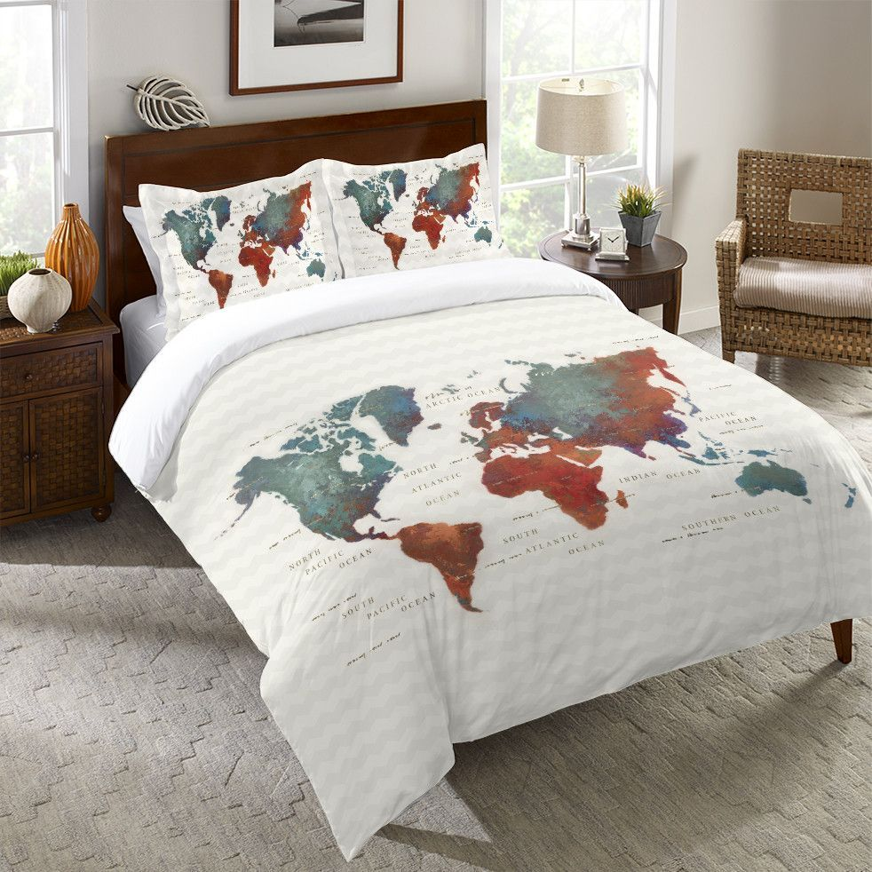 Colorful world duvet cover duvet comforter and house colorful world duvet cover gumiabroncs Image collections