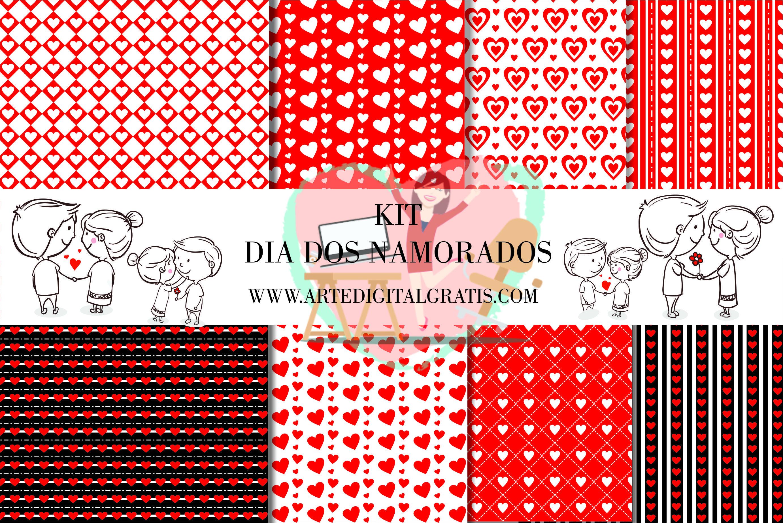 Kit Digital Dia Dos Namorados Gratis Dia Dos Namorados Kit