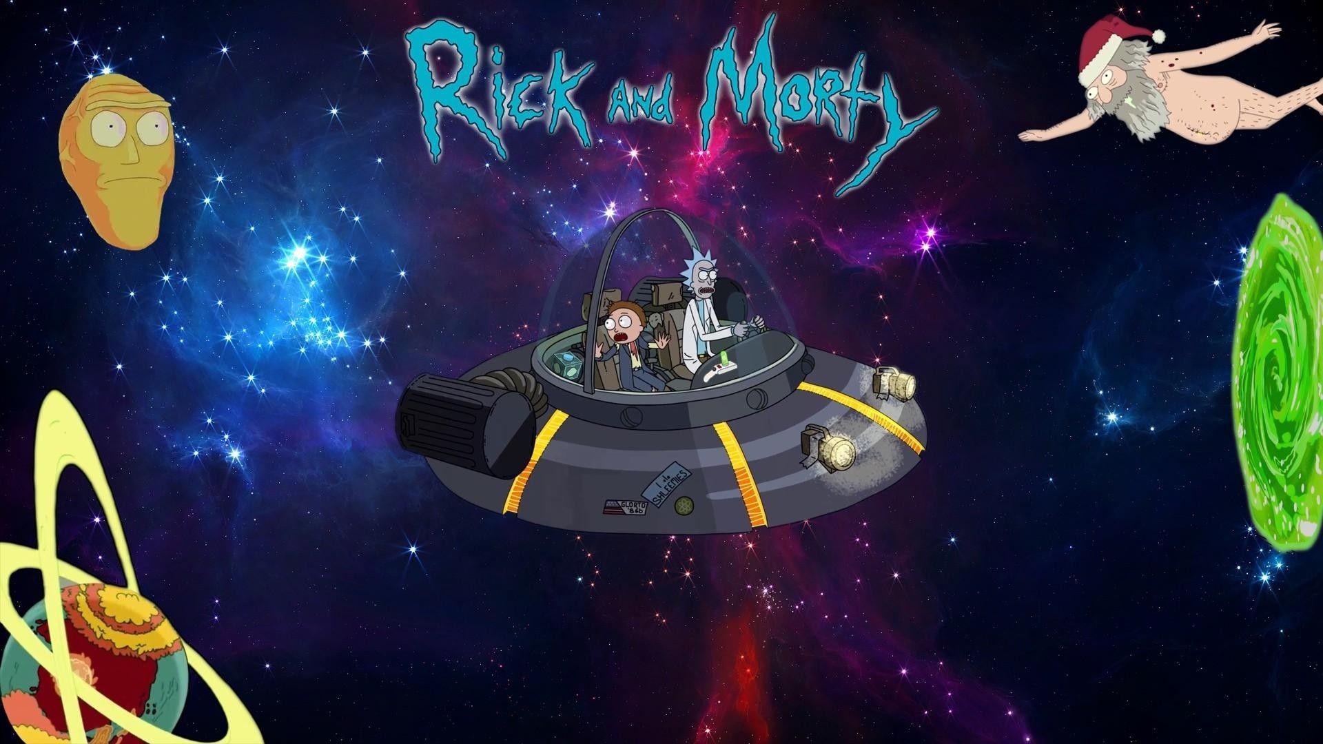 Rick and Morty Desktop Backgrounds HD | Sfondi, Mac