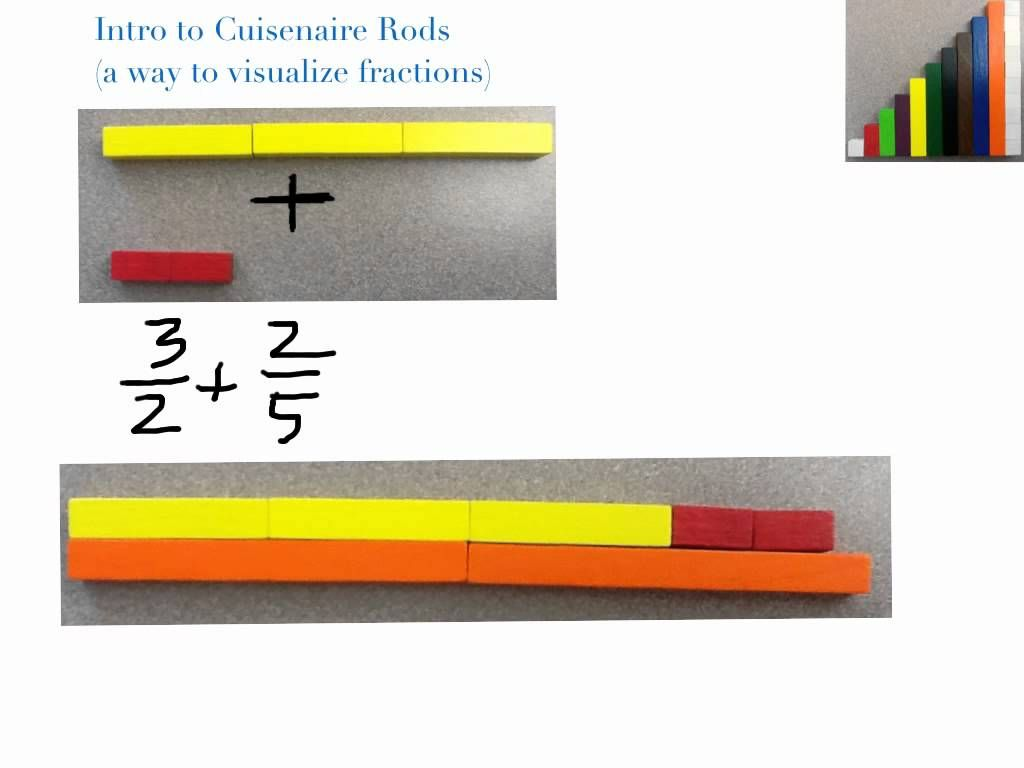 Intro To Cuisenaire Rods For Fractions